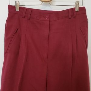 VINTAGE CLTO Pleated Super High Waisted Pa…